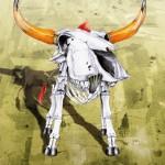 CREATURES - bika - plakát, digitális nyomat, 70x100 cm