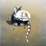 CREATURES - cica - plakát, digitális nyomat, 70x100 cm