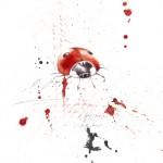Katica - tus, golyóstoll, papíron, 21x29,7 cm